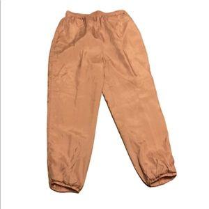Vintage silk pajama pants by Silk Exchange, large